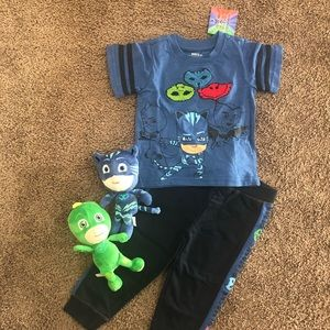 Pj mask size 2t and plushes